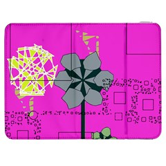 Flowers and squares        HTC One M7 Hardshell Case