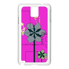 Flowers and squares        Apple iPhone 5C Seamless Case (White)