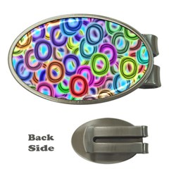 Colorful ovals              Money Clip (Oval)
