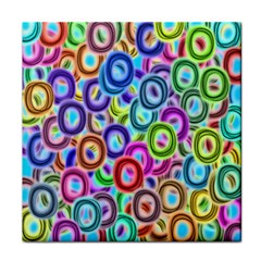 Colorful ovals              Face Towel