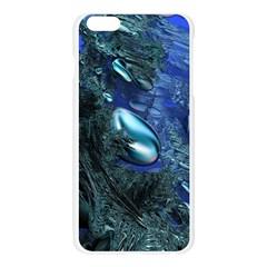 Shiny Blue Pebbles Apple Seamless iPhone 6 Plus/6S Plus Case (Transparent)