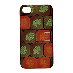Information Puzzle Apple Iphone 4/4s Hardshell Case With Stand