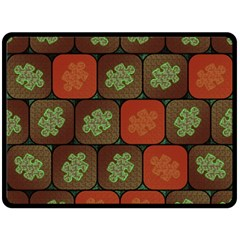 Information Puzzle Double Sided Fleece Blanket (Large)