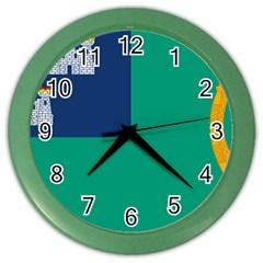 City of Dublin Fag  Color Wall Clocks