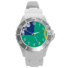 City of Dublin Fag  Round Plastic Sport Watch (L)