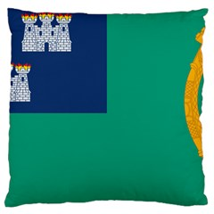 City Of Dublin Fag  Large Cushion Case (two Sides)