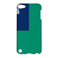 City Of Dublin Flag Apple Ipod Touch 5 Hardshell Case
