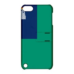 City of Dublin Flag Apple iPod Touch 5 Hardshell Case with Stand