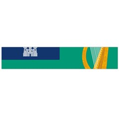 City of Dublin Flag Flano Scarf (Large)