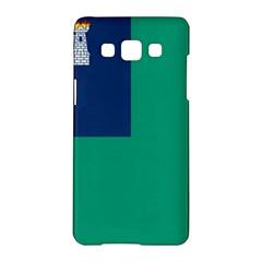 City of Dublin Flag Samsung Galaxy A5 Hardshell Case