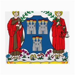 City of Dublin Coat of Arms  Small Glasses Cloth (2-Side)