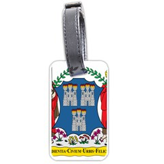 City Of Dublin Coat Of Arms  Luggage Tags (two Sides)