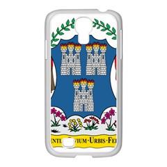 City of Dublin Coat of Arms  Samsung GALAXY S4 I9500/ I9505 Case (White)