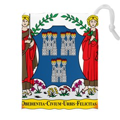 City of Dublin Coat of Arms  Drawstring Pouches (XXL)