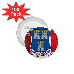 City of Dublin Coat of Arms 1.75  Buttons (100 pack)