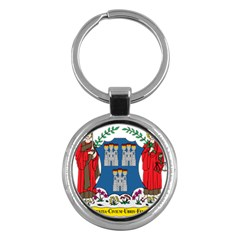 City Of Dublin Coat Of Arms Key Chains (round)