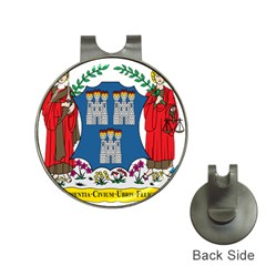 City of Dublin Coat of Arms Hat Clips with Golf Markers