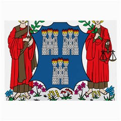 City of Dublin Coat of Arms Large Glasses Cloth (2-Side)