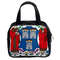 City of Dublin Coat of Arms Classic Handbags (2 Sides)