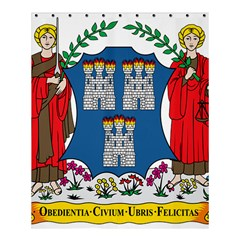 City of Dublin Coat of Arms Shower Curtain 60  x 72  (Medium)