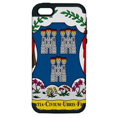 City of Dublin Coat of Arms Apple iPhone 5 Hardshell Case (PC+Silicone)