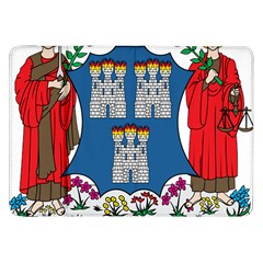 City of Dublin Coat of Arms Samsung Galaxy Tab 8.9  P7300 Flip Case