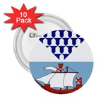 Flag of Belfast 2.25  Buttons (10 pack)  Front