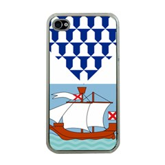 Flag of Belfast Apple iPhone 4 Case (Clear)