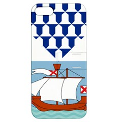 Flag of Belfast Apple iPhone 5 Hardshell Case with Stand