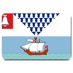Flag of Belfast Large Doormat