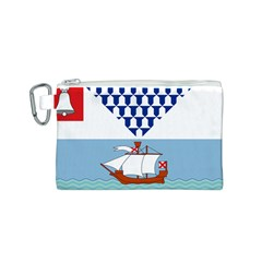 Flag of Belfast Canvas Cosmetic Bag (S)