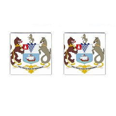 Coat of Arms of Belfast  Cufflinks (Square)