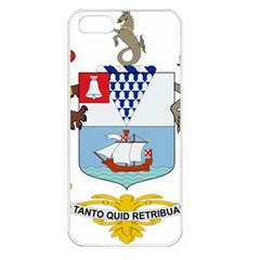 Coat of Arms of Belfast  Apple iPhone 5 Seamless Case (White)