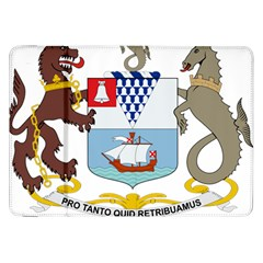 Coat of Arms of Belfast  Samsung Galaxy Tab 8.9  P7300 Flip Case