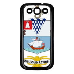 Coat of Arms of Belfast  Samsung Galaxy S3 Back Case (Black)