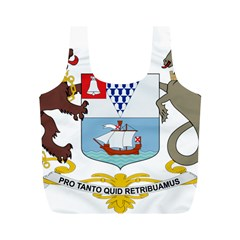 Coat of Arms of Belfast  Full Print Recycle Bags (M)