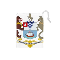 Coat of Arms of Belfast  Drawstring Pouches (Small)