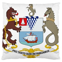 Coat of Arms of Belfast  Standard Flano Cushion Case (Two Sides)