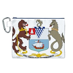 Coat of Arms of Belfast  Canvas Cosmetic Bag (L)