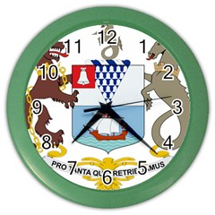 Coat of Arms of Belfast  Color Wall Clocks