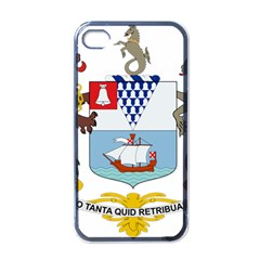 Coat of Arms of Belfast  Apple iPhone 4 Case (Black)