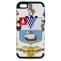 Coat of Arms of Belfast  Apple iPhone 5 Hardshell Case (PC+Silicone)