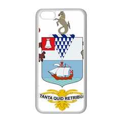 Coat of Arms of Belfast  Apple iPhone 5C Seamless Case (White)