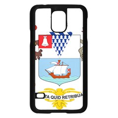 Coat of Arms of Belfast  Samsung Galaxy S5 Case (Black)