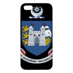 Flag of Drogheda  iPhone 5S/ SE Premium Hardshell Case