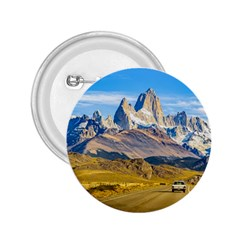 Snowy Andes Mountains, El Chalten, Argentina 2.25  Buttons