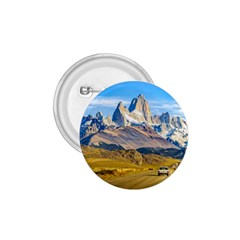 Snowy Andes Mountains, El Chalten, Argentina 1.75  Buttons