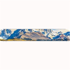 Snowy Andes Mountains, El Chalten, Argentina Small Bar Mats