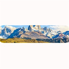Snowy Andes Mountains, El Chalten, Argentina Large Bar Mats
