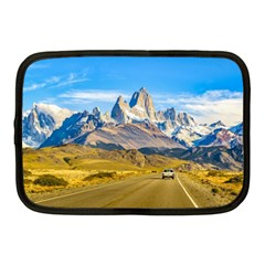 Snowy Andes Mountains, El Chalten, Argentina Netbook Case (Medium)